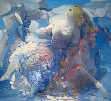Бедоев Ш. Дзерасса на прогулке, 1995 г.