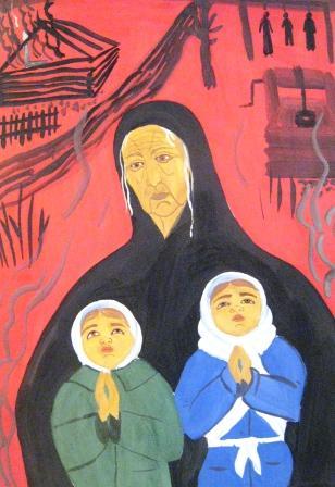 Диана Бекурова - 5 класс. Молитва о Победе.