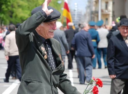 Привет, Осетия! Кавалер ордена Отечественной войны Эрди Валиев.