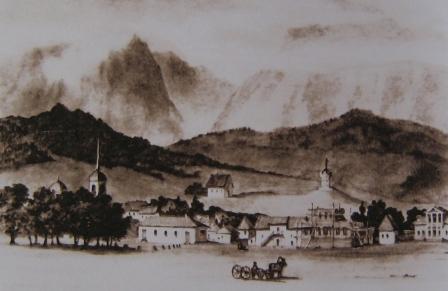 Владикавказ, запечатленный в рисунках и в живописи