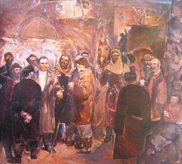 Киров среди горцев. 1973 г.