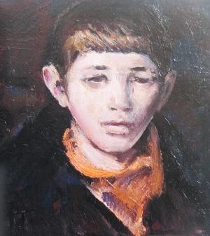 Портрет сына. 1981 г.