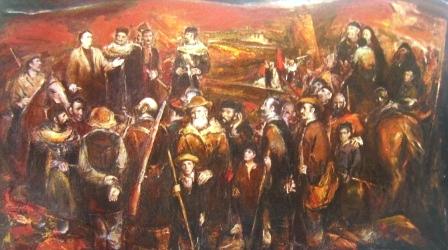 Установление советской власти в Северной Осетии. 1984 г.