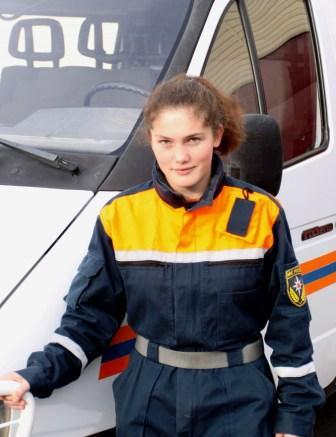 Алана ДОЕВА: в спасатели – по призванию