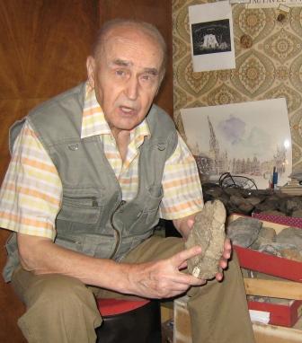 Василий Любин в 92 года собирается в очередную экспедицию – но не в Осетию