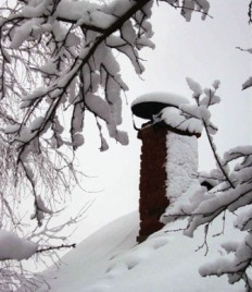 В Моздоке последствия снегопада все еще дают о себе знать