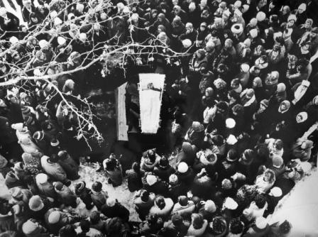 Первые жертвы агрессии. Цхинвал, январь 1991 г.
