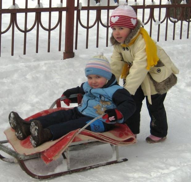 Узоры зимнего Владикавказа
