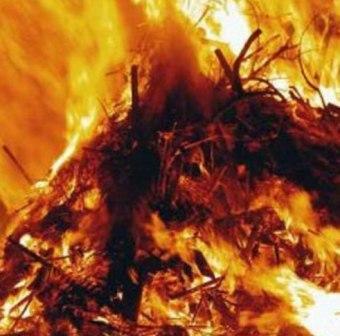 Зимой в районах Северной Осетии заготовки сена и соломы сметает «красный петух»