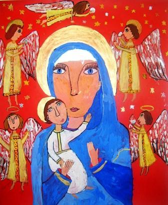 «Звездочки» Осетии рисуют библейские сюжеты
