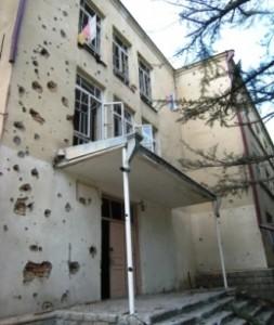 В августе 2008-го Грузия расстреливала даже науку. Цхинвал, 11 августа 2008 г.
