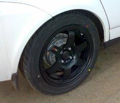 Житель Владикавказа украл автомобильные колеса и попался
