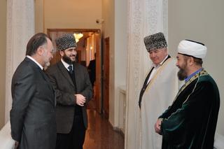 Представители Северной Осетии участвуют в процессе объединения мусульман России