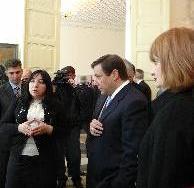 Александр ХЛОПОНИН посетил художественный музей им. М.Туганова