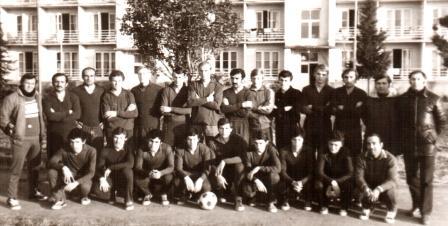 Подготовка к сезону в Гудаутах. 1974 г.