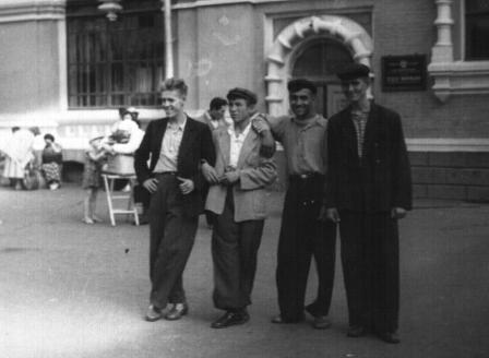 skf 1957 сборная Азербайджана в Москве
