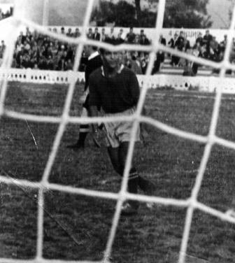 Один из более 100 голов, которые  Г.Будагян забил за свою карьеру во Владикавказе.