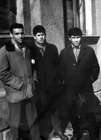 Святая троица - Будагян, Ковалев, Аситов. Владикавказ, 1962 г.