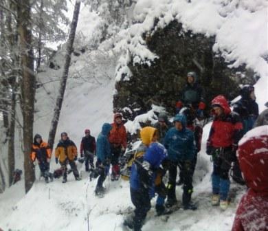 В горах Осетии проходят подготовку инструкторы альпинизма из регионов России
