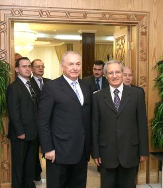 Дзасохов встретился в Сирии с вице-президентом, патриархом и осетинским землячеством