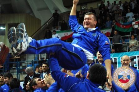 Триумфаторы: сборная России по вольной борьбе продолжила победные традиции