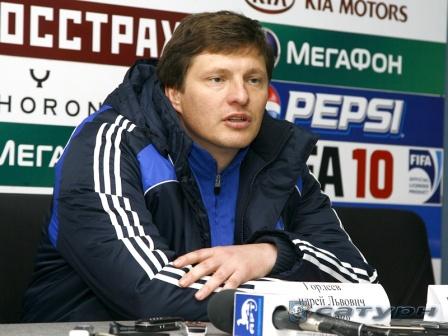 """Андрей Гордеев: """"Ехали за победой, но и ничья - в зачет""""."""