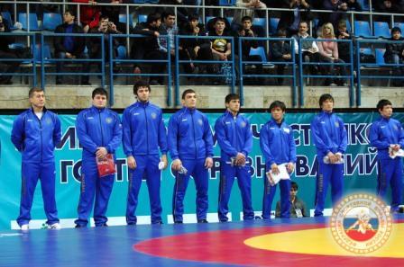 Первая встреча сборной России на соревнованиях.