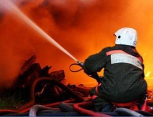В Моздокском районе при пожаре погиб человек
