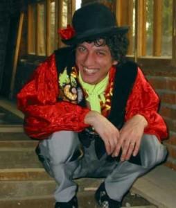 Цыганский костюм для цирка.