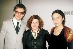 А.Хилькевич, А.Кулова и Ф.Цахилова.