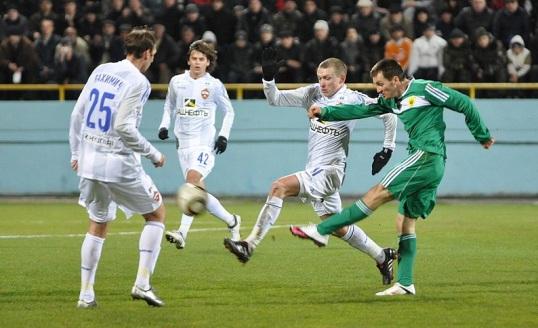 В матче с ЦСКА Цораев играл смело и напористо.