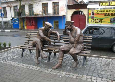 В самом центре Владикавказа «прописались» игроки в нарды