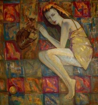 Ахсар АХПОЛОВ: «В Осетии больше любят, когда художник дарит свои холсты»