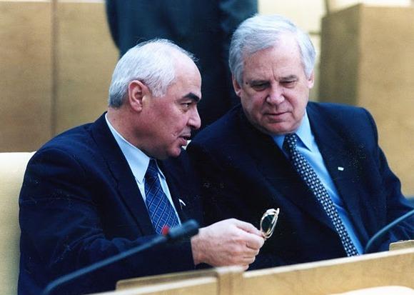 С Председателем Совета Министров СССР Николаем Рыжковым.