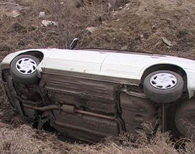 Вчера вечером на дорогах Северной Осетии погиб один человек, двое госпитализированы