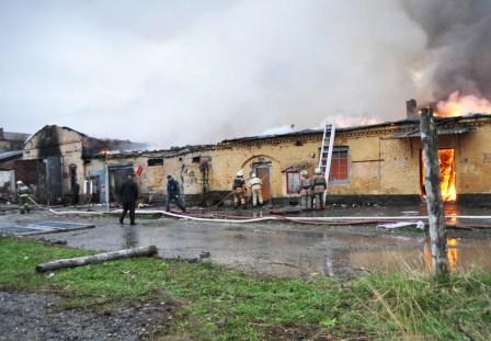 Установлена причина недавнего пожара во Владикавказе