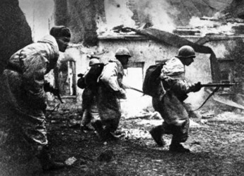 Десантники внесли решающий перелом в боях под Владикавказом
