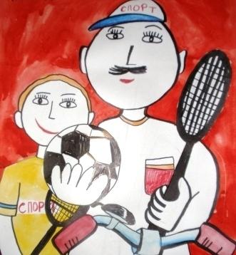 «Спорту и здоровью – да, да, да! А привычкам вредным – нет, нет, нет!»