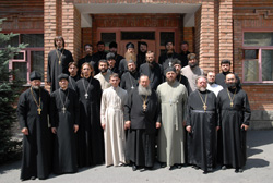 Православное духовенство Северной Осетии исповедалось