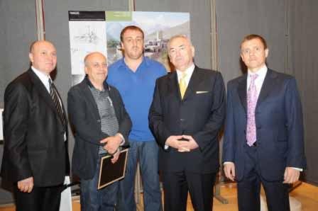 Архитекторы и скульпторы Осетии стали лауреатами Всероссийского конкурса  «Наше Отечество»