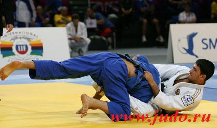 Джейхун ЭЙЮБОВ стал вторым на Кубке Европы по дзюдо в Оренбурге
