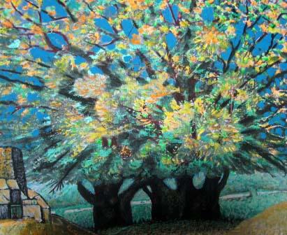 Деревья в Санибе.
