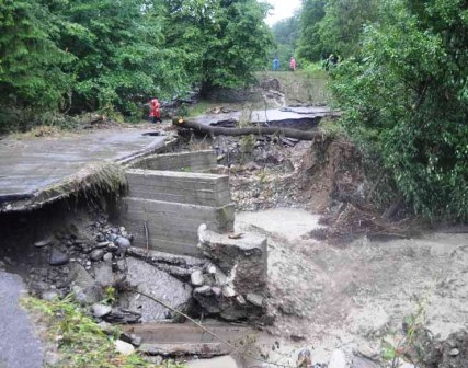 Северной Осетии оказывается помощь в преодолении последствий стихии