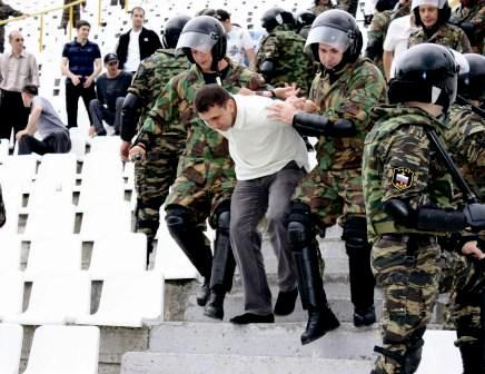Милиция Северной Осетии готова к встрече с фанатами «Зенита»
