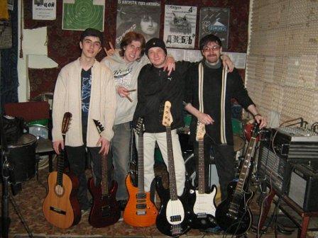 Рок-группа «Tiberium»: пять лет свободного плавания