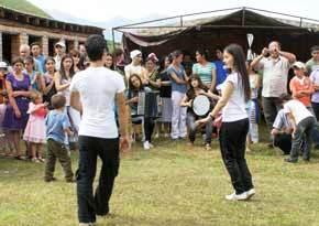 «Узунаг» – почитаемый праздник в селе Вакац