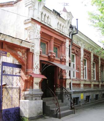 Здание по ул.Ленина,31, где во Владикавказе располагалось британское консульство.