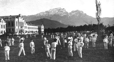 Кадеты Владикавказа были хорошими спортсменами.