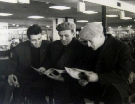В аэропорту Амстердама. 1963 г.