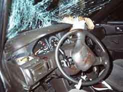 Водитель и пассажир «Жигулей» погибли в столкновении с рейсовым автобусом